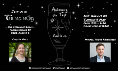 Astronomy on Tap Aarhus: Tuesday May 8, 2018