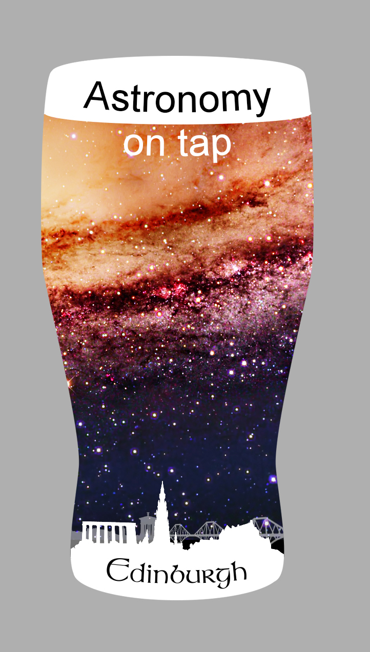 Logo for Astronomy on Tap Edinburgh