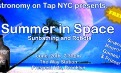Astronomy on Tap NYC - June 2018 - Summer In Space!