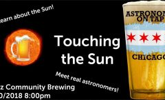 Astronomy on Tap Chicago: Touching the Sun (May 30, 2018 - Marz Community Brewing)