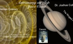 AoT Space Coast June 26th: The Ringed Planet and Gravitational Waves