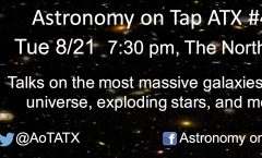 Astronomy on Tap ATX #47: August 21, 2018