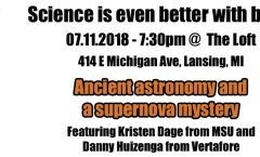 Astronomy on Tap - Lansing - July 2018