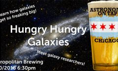Astronomy on Tap Chicago: Hungry Hungry Galaxies (July 30, 2018 - Metropolitan Brewing)