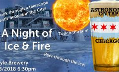 Astronomy on Tap Chicago: A Night of Ice & Fire (September 18, 2018 - Begyle Brewing)