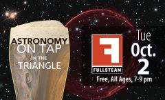 Astronomy on Tap Triangle #9: Tuesday, October 2, 2018