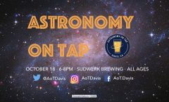 Astronomy on Tap Davis, CA October 18, 2018 6-8pm