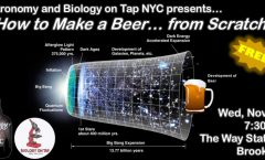 Astro/Bio On Tap NYC November 2018 - How To Make a Beer from Scratch!