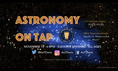 AoT Davis, CA November 15, 2018 6-8 pm at Sudwerk Brewing