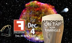 Astronomy on Tap Triangle #11: Tuesday, December 4, 2018