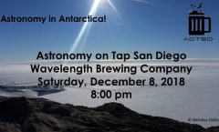 Astronomy on Tap San Diego: 8 December 2018