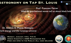 Astronomy on Tap St. Louis, January 14th, 2019
