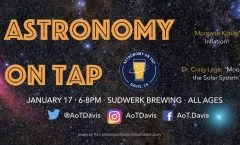 AoT Davis, CA January 17th, 2019, 6-8pm at Sudwerk Brewing Co.
