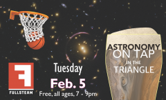 Astronomy on Tap Triangle #12: Tuesday, February 5, 2019
