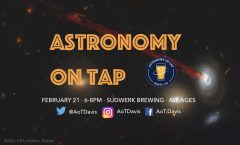 Astronomy on Tap Davis, CA 6pm February 21 at Sudwerk Brewing