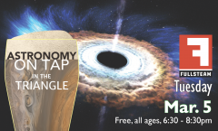 Astronomy on Tap Triangle #13: Tuesday, March 5, 2019