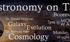 Astronomy on Tap Bozeman: April 22, 2019
