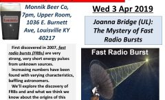 Astronomy on Tap - Louisville, Apr 3, 2019