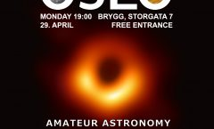 Astronomy on Tap Oslo #14: Monday April 29, 2019 at Brygg