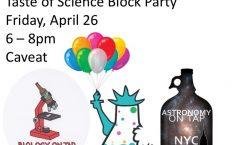 Taste of Science NYC Block Party!