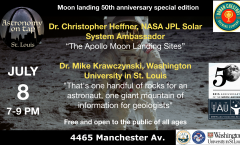 Astronomy on Tap STL, July 8th 2019, Moon landing anniversary special edition