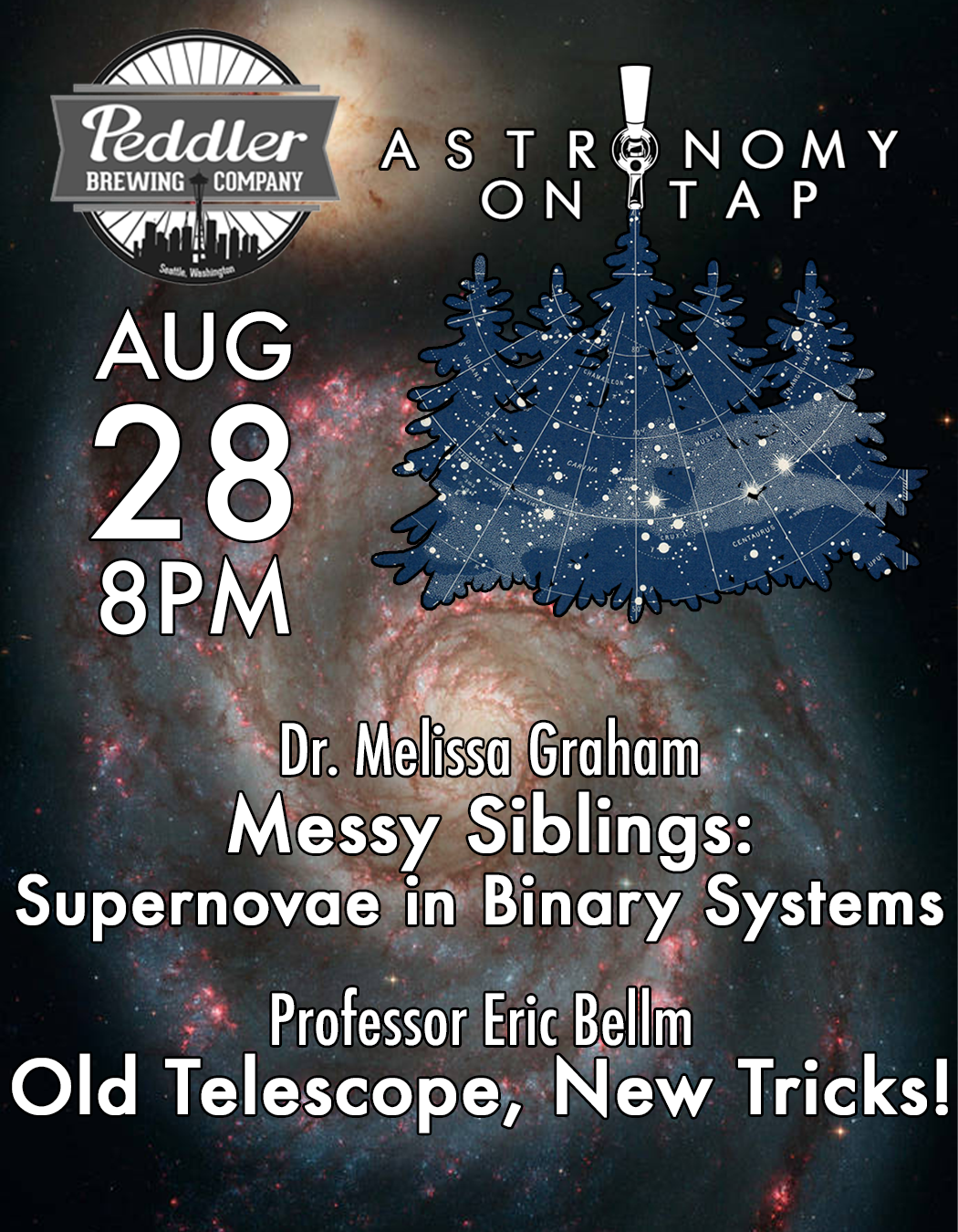 Astronomy on Tap SEA: August 28th at Peddler Brewing