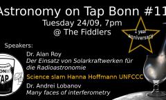 Astronomy on Tap Bonn #11