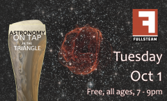 Astronomy on Tap Triangle #16: Tuesday, October 1, 2019