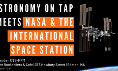 AoT Boston meets NASA and the International Space Station - September 17, 2018