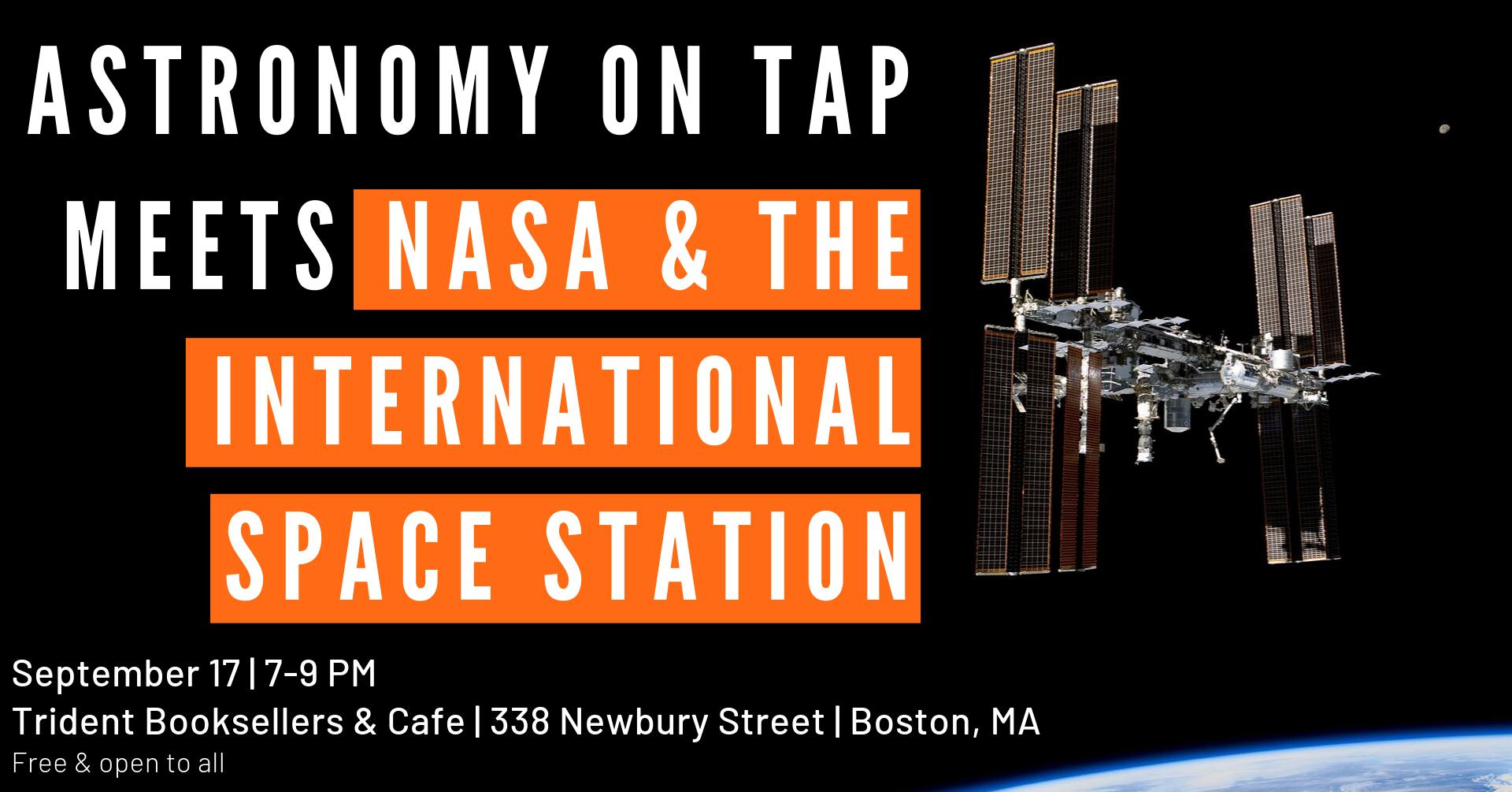 AoT Boston meets NASA & the ISS