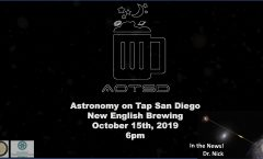 Astronomy on Tap San Diego - October 15, 2019