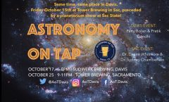AoT Davis October 17th at Sudwerk Brewing, October 25th at Tower Brewing