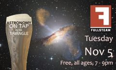 Astronomy on Tap Triangle #17: Tuesday, November 5, 2019