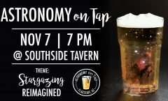 Astronomy On Tap Flagstaff | November 7th, 2019