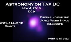 Astronomy on Tap DC: Nov 4, 2019