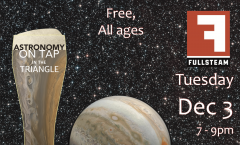 Astronomy on Tap Triangle #18: Tuesday, December 3, 2019