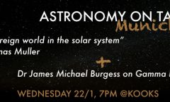 Astronomy on Tap Munich Launch, 22nd Jan