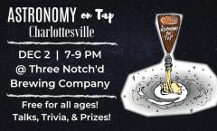 AoT Charlottesville - Monday, Dec 2, 2019 @ Three Notch'd Brewing Company