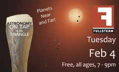 Astronomy on Tap Triangle #19: Tuesday, February 4, 2020