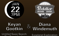 Astronomy on Tap Seattle: January 22nd at Peddler Brewing Company