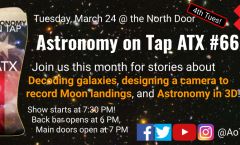 CANCELLED -- Astronomy on Tap ATX #66, March 24, 2020