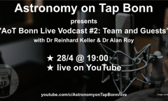 AoT Bonn Live Vodcast #2: Team & Guests (Astronomy on Tap Bonn #18)