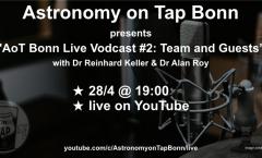 AoT Bonn Live Vodcast #2: Team & Guests (Astronomy on Tap Bonn #18)