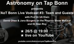 Astronomy on Tap Bonn #19 Live Online