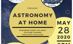 Astronomy at Home Seattle: May 28th (Online)