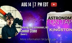 Astronomy on Tap Kingston: August 14th (Online)