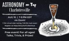 AoT Charlottesville - Monday, Aug 10, 2020 via Zoom!