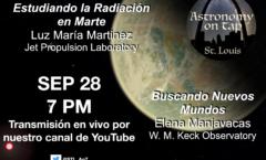 """""""Astronomy on Tap STL"""" en español: mes de la herencia hispana (septiembre 28, 2020, 7 p.m. hora central en Estados Unidos)."""