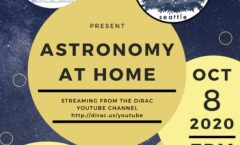 Astronomy at Home Seattle: October 8th (Online)