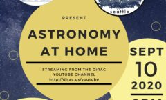 Astronomy at Home Seattle: September 10th (Online)